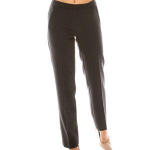Zac & Rachel Grey Pants with Faux Zipper Pockets